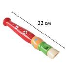 Музыкальная игрушка «Дудочка средняя», цвета МИКС - фото 106524967