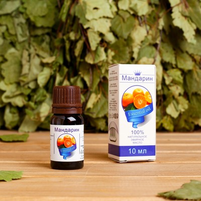 Эфирное масло «Мандарин», флакон-капельница, аннотация, 10 мл