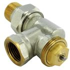 """Клапан терморегулирующий Comap R807604, 1/2"""", обратный угол, M28, с фиксированным Kv"""