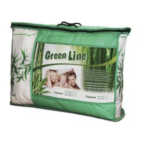 Одеяло Green Line, размер 172х205 см, бамбук