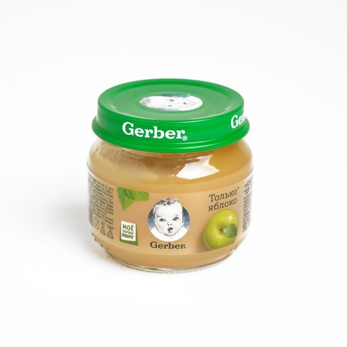 GERBER пюре яблоко 80г