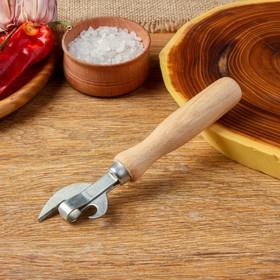 Нож консервный эконом 160 мм, бук экстра, сталь твёрдая коррозионностойкая Ош