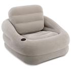 Кресло надувное, 97 x 107 x 71 см, цвет серый 68587NP INTEX