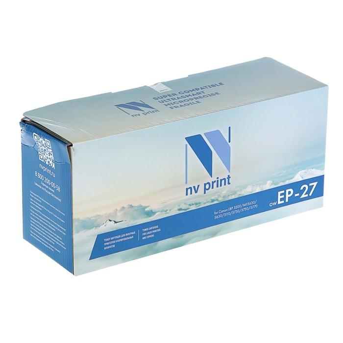 Картридж NV PRINT EP-27 для Canon i-SENSYS MF3228/3110/3240/5630/5650/5730 (2500k), черный