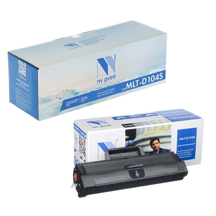 Картридж NV PRINT MLT-D104S для Samsung SCX 3200/3205/3217/ML1660/1661/1665/1667 (1500k)