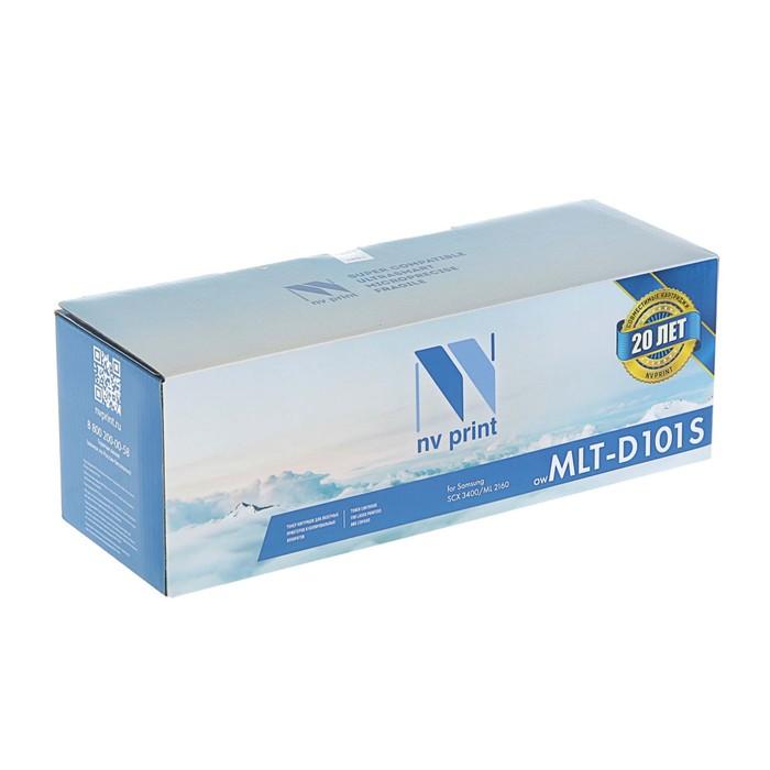 Картридж NV PRINT MLT-D101S для Samsung ML-2160/ML-2165/SCX-3400/SCX-3405 (1500k), черный - фото 450118096