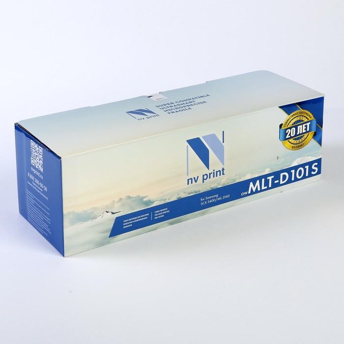 Картридж NV PRINT MLT-D101S для Samsung ML-2160/ML-2165/SCX-3400/SCX-3405 (1500k), черный - фото 450118097