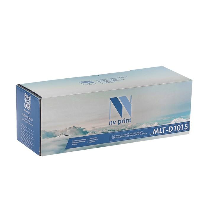 Картридж NV PRINT MLT-D101S для Samsung ML-2160/ML-2165/SCX-3400/SCX-3405 (1500k), черный - фото 450118099