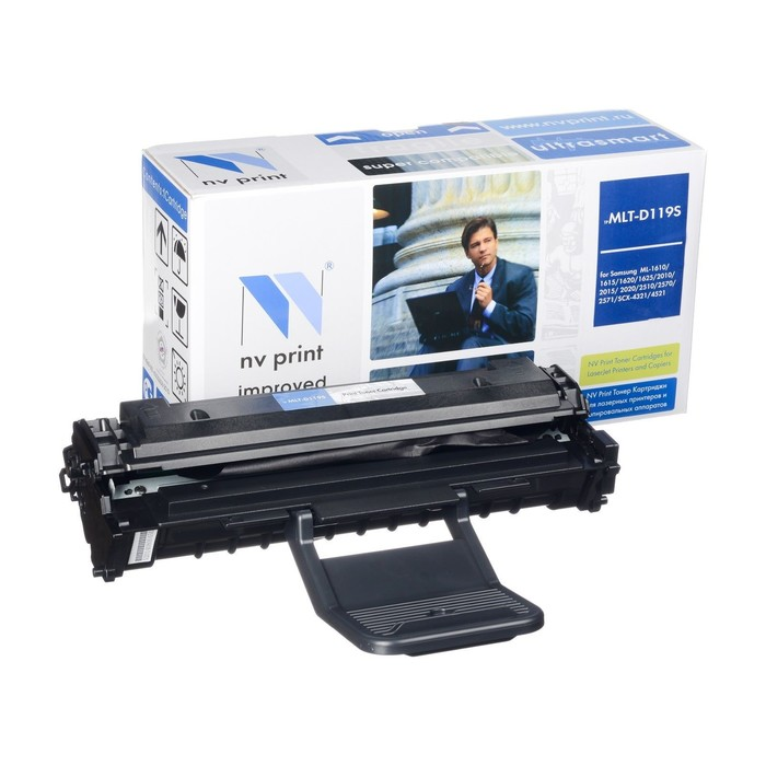 Картридж NV PRINT MLT-D119S для Samsung ML-1610/2010/SCX-4321/4521 (2000k), черный