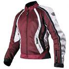 Куртка женская XENA, текстиль, бордовая L