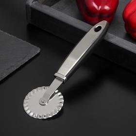 Нож для пиццы и теста Доляна Blade, 20 см, ручка soft touch, цвет МИКС