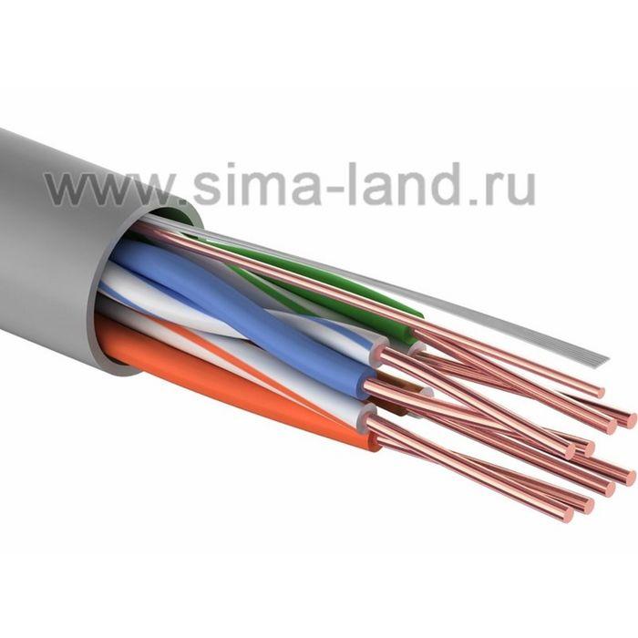 Кабель PROconnect UTP, 4 пары, 24 AWG, CAT5e, 50 м, 01-0043-3-50