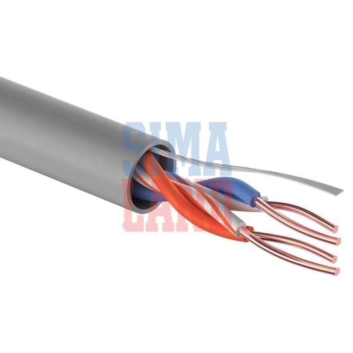 Кабель PROconnect UTP, 2 пары, 24 AWG, CAT5e, 305 м, 01-0027