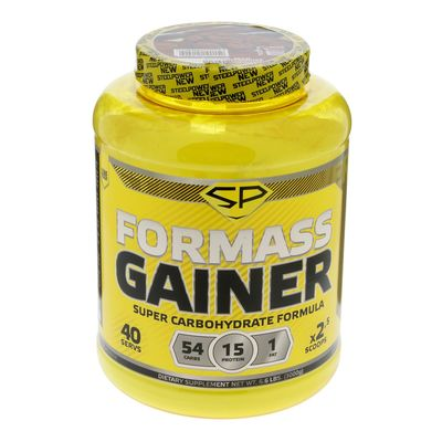 Гейнер Steel Power Nutrition For Mass, молочное печенье, 3000 г