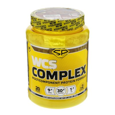Протеин мультикомпонентный Steel Power Nutrition WCS Complex, молочное печенье, 900 г