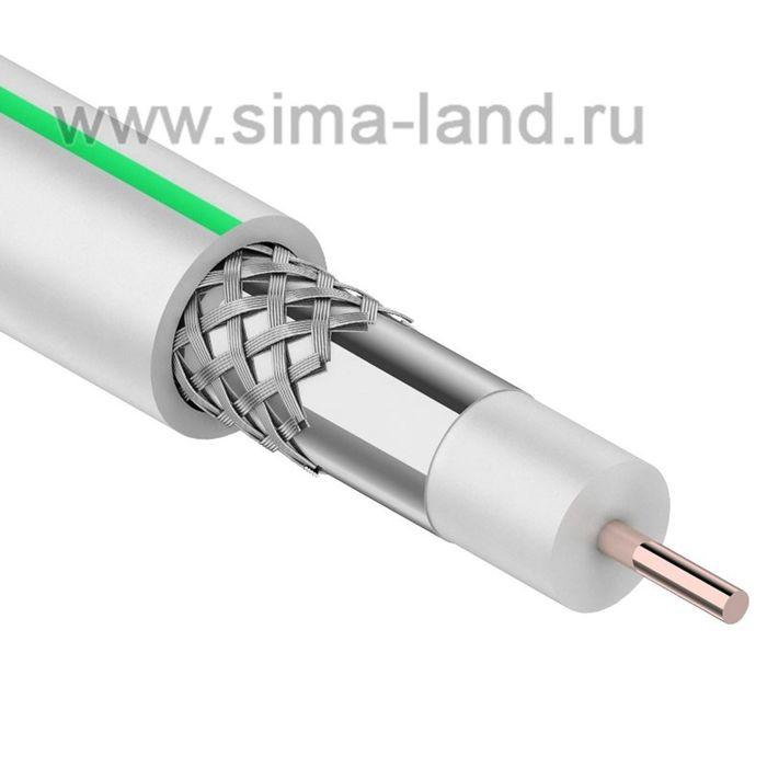 Кабель PROconnect SAT 703 B, CCS/Al/Al, 75 Ом, 100 м, белый, 01-2431-2