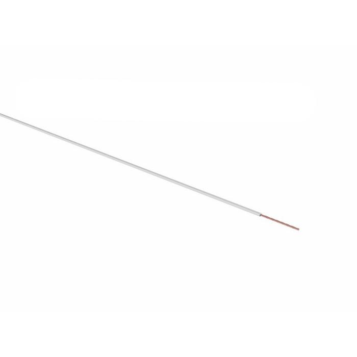 Провод REXANT ПГВА, 1 х 0,75мм², 100 м, белый, 01-6501