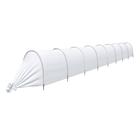 Парник «Агроном», длина 8 м, 9 дуг, укрывной материал 45 г/м²