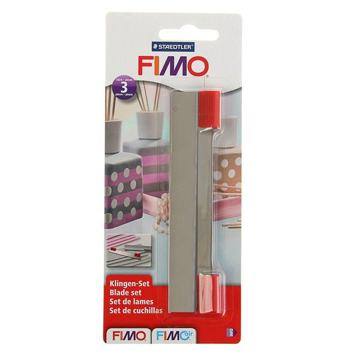 Нож-лезвие металлическое прямое FIMO, в наборе 3 шт.