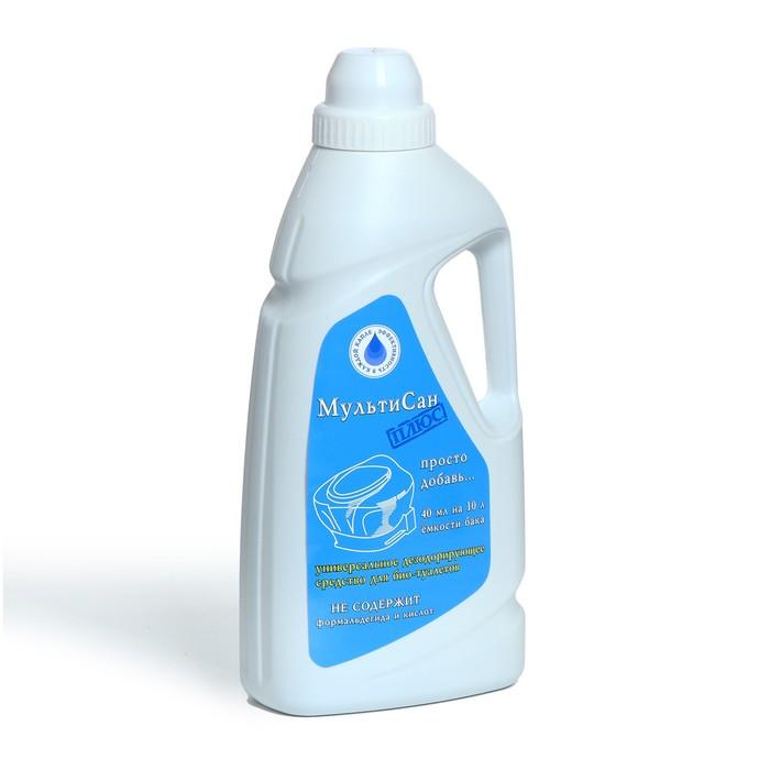Жидкость для биотуалета универсальная, 1 л, «Мультисан Плюс», концентрат