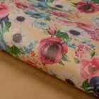 Бумага упаковочная крафт «Весенние цветы», 50 х 70 см