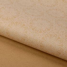Бумага упаковочная крафт «Кружево», 50 х 70 см Ош