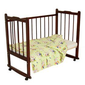Одеяло, размер 120*120 см, цвет зелёный микс 23.1 Ош