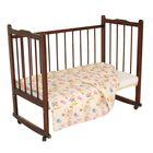 Одеяло, размер 120*120 см, цвет розовый микс 23.1