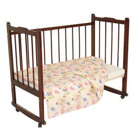 Одеяло, размер 120*120 см, цвет розовый микс 23.1 Ош
