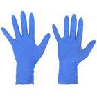"""Перчатки нитриловые неопудренные удлиненные, размер S """"Люкс"""", 100 шт/уп, цвет голубой"""