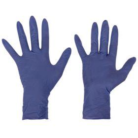 Перчатки нитриловые неопудренные L 100 шт/кор 'Интенсив' Ош