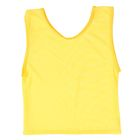Манишка-сетка, цвет жёлтый, размер M