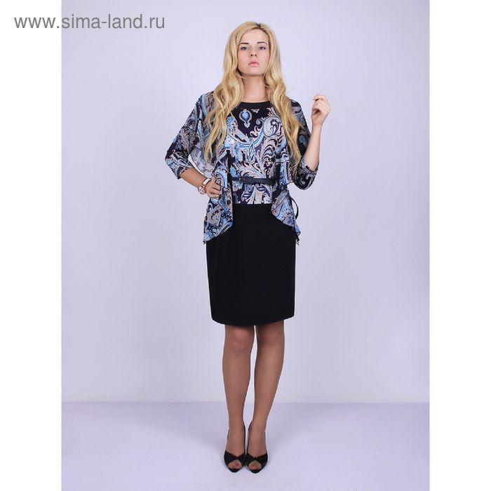 Платье женское 1-062 цвет микс, рост 164, р-р 52