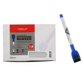 Маркер для доски 2.5 мм MiniMax-820 синий, магнит и губка