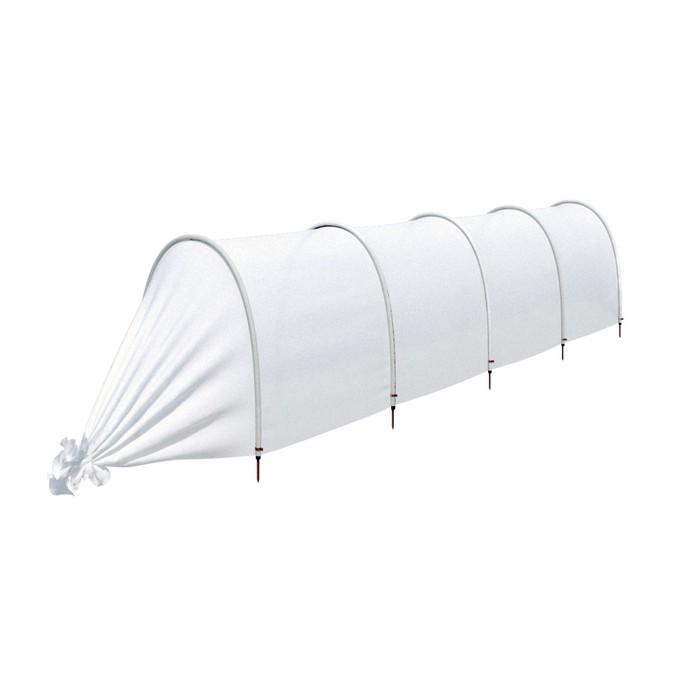 Парник прошитый «Агроном», длина 4.5 м, 5 дуг из пластика, дуга L = 2 м, d = 20 мм, укрывной материал 45 г/м²