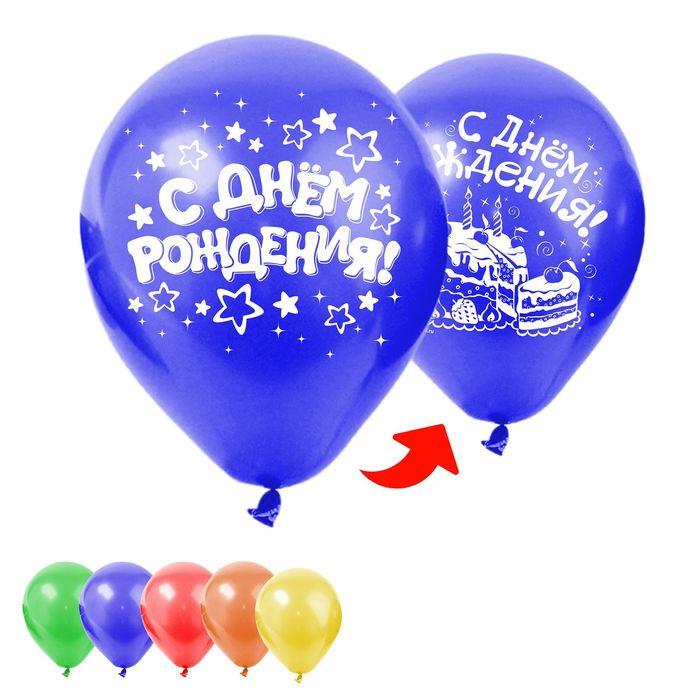 Картинки шары воздушные с днем рождения