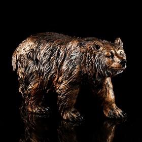 """Статуэтка """"Медведь"""" бронза, 34 см"""