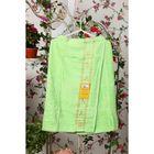 Накидка махровая на липучке «Элитная», цвет зелёный, размер 67х104 см