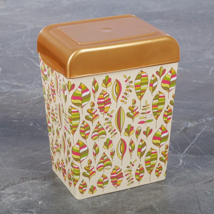 Ёмкость для сыпучих продуктов, декор МИКС