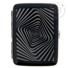 """Портсигар с электронной зажигалкой """"Орнамент"""", 11.5 х 8.5 см, от USB в Донецке"""