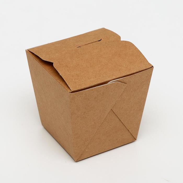 Коробка для лапши, сборная, 6,5 х 8 х 10 см, 0,46 л