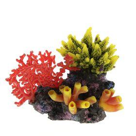 Композиция из кораллов пластик+силикон 23х12х22.5см (SH9608B)