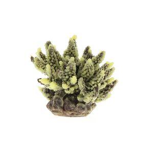 Коралл пластиковый (мягкий) желто-коричневый 11,5x10x9см (SH095PUY)