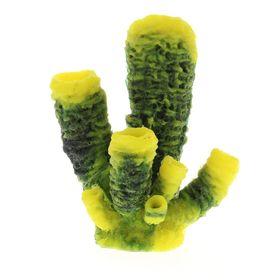 Коралл пластиковый (мягкий) желтый 15х13х18,2см (SH052Y)