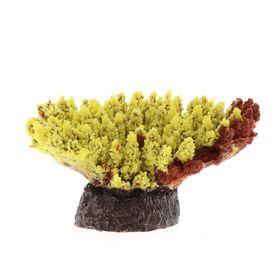 Коралл пластиковый (мягкий) желтый 21х18х8,5см (SH080Y)
