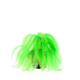 Коралл пластиковый (мягкий) зеленый 12х12х17см (CA007G)