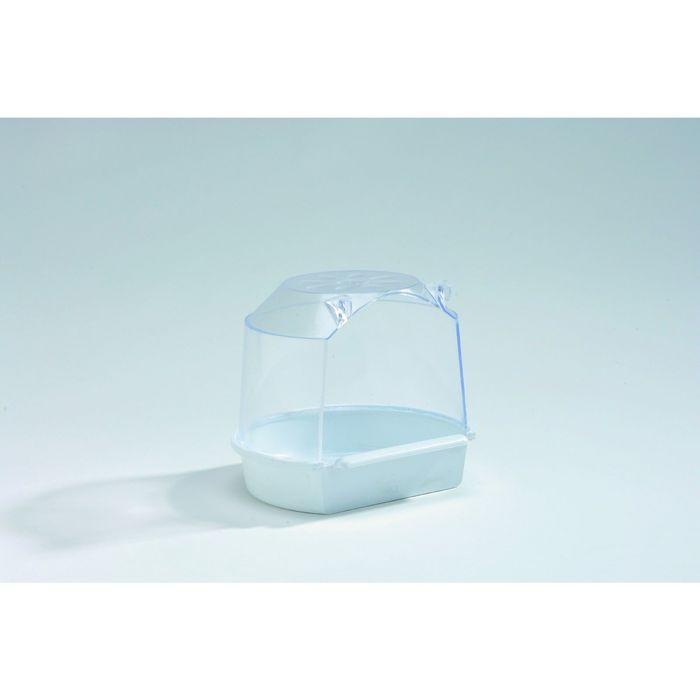 Купалка Beeztees для птиц, малая, белая, 13*12*12см