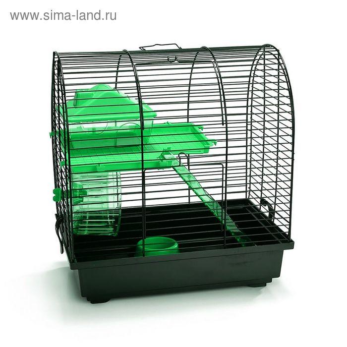 Клетка Beeztees  Grim 2  для грызунов, комплект, 37х25х39см, микс