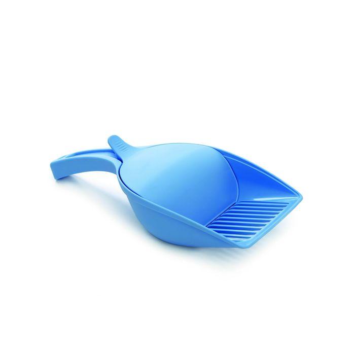 Совок Beeztees   для туалета голубой 27,5*12,5см