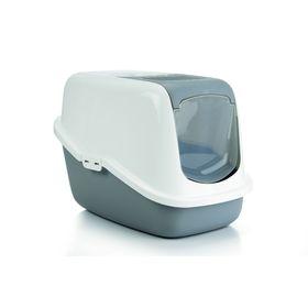Туалет-домик Beeztees Nestor  для кошек, 56 х 39 х 39 см, серый